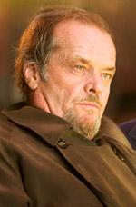 Jack Nicholson angry