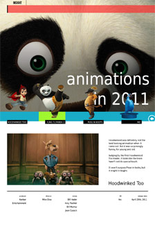 Animations in 2011