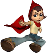 Hoodwinked Too Character Red