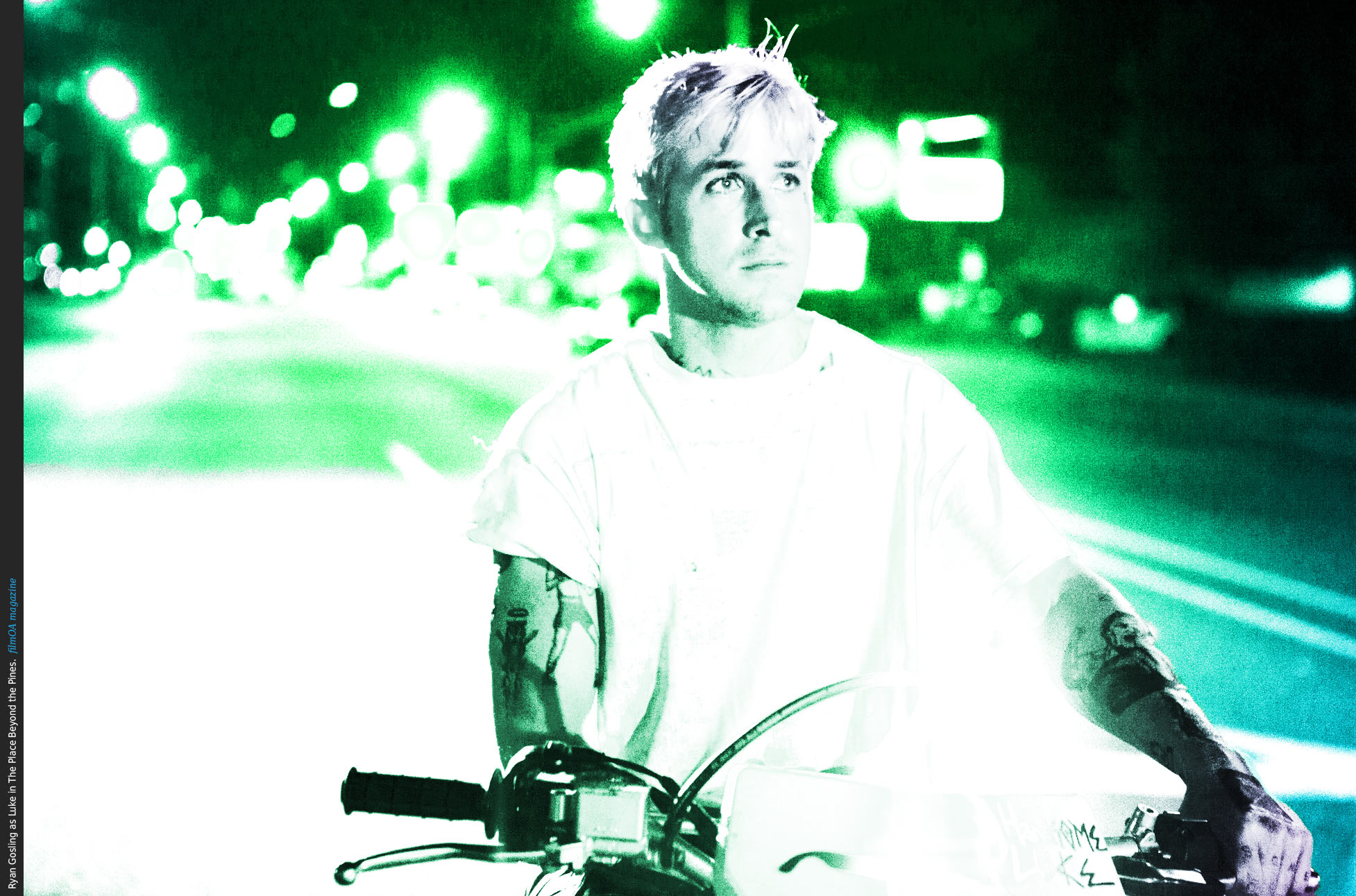 Ryan Gosling as Luke in The Place Beyond the Pines Poster filmOAThe Place Beyond The Pines Ryan