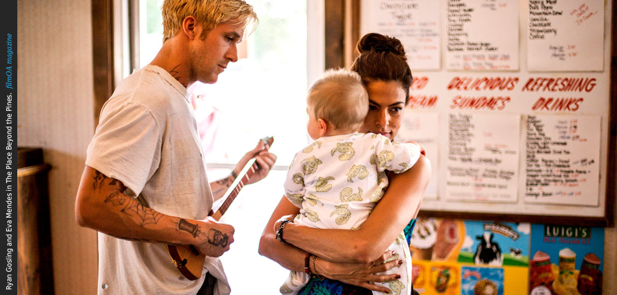 Ryan Gosling and Eva Mendes baby Place Beyond the Pines film