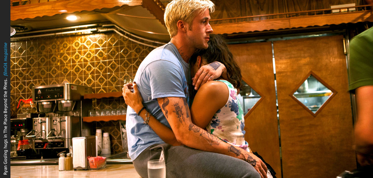 Ryan Gosling hug The Place Beyond the Pines film