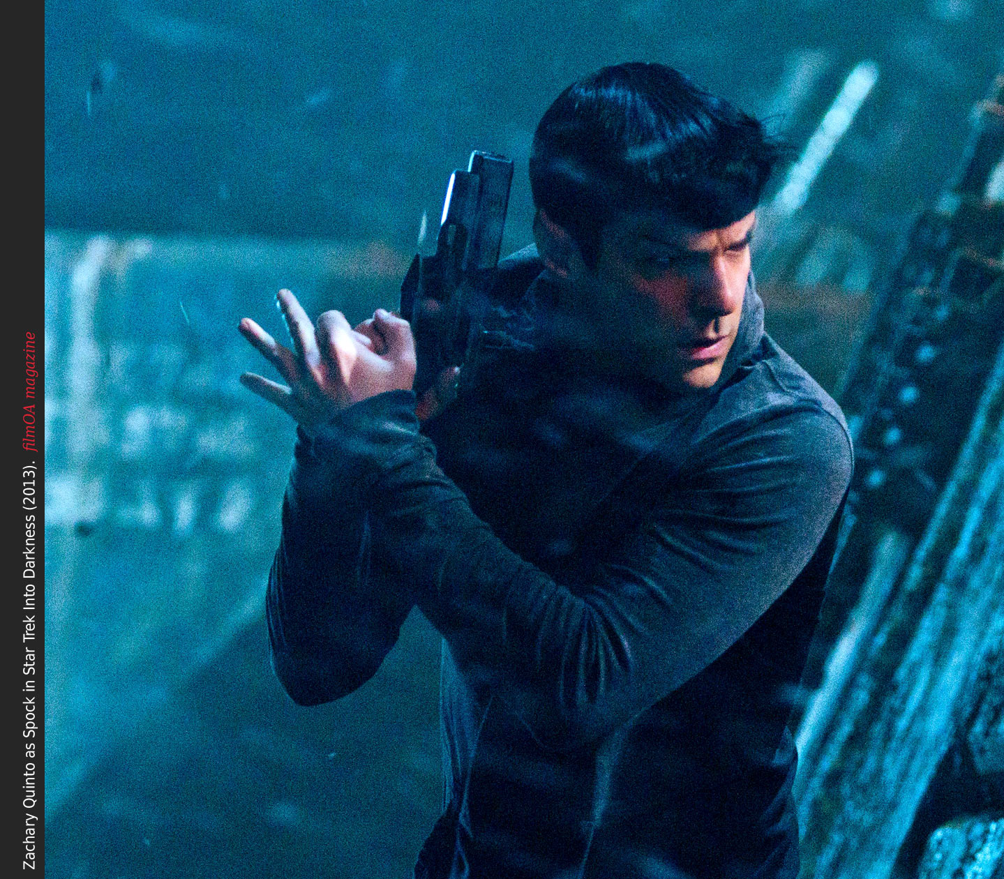 Zachary Quinto shows emotion as Spock in Star Trek Into ...