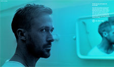 Ryan Gosling gets beat up as Julian in Only God Forgives
