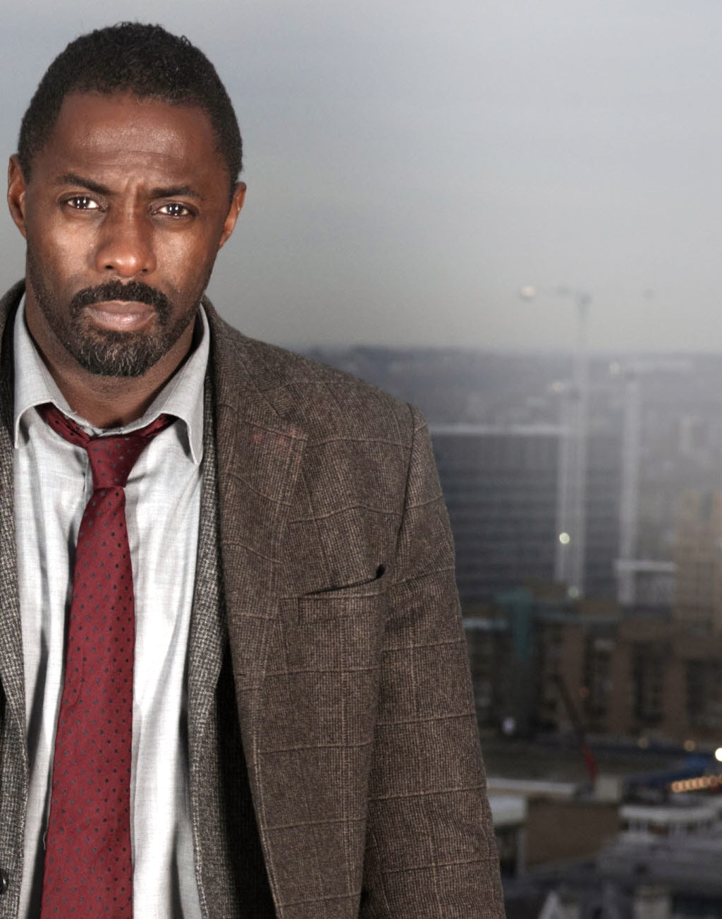 Idris Elba in Luther season 3