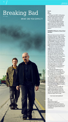 Breaking Bad: What Did You Expect?