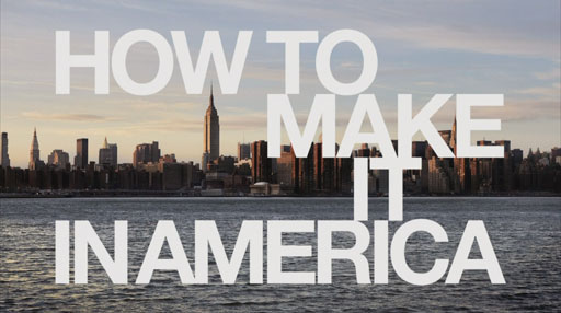 How to Make it in America Logo