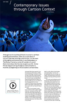Happy Feet 2: Contemporary Issues through Cartoon Context