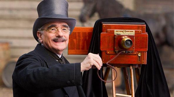 Hugo Martin Scorsese Cameo