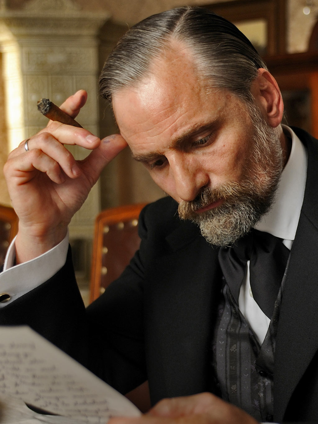 Viggo Mortensen as Sigmund Freud in A Dangerous Method