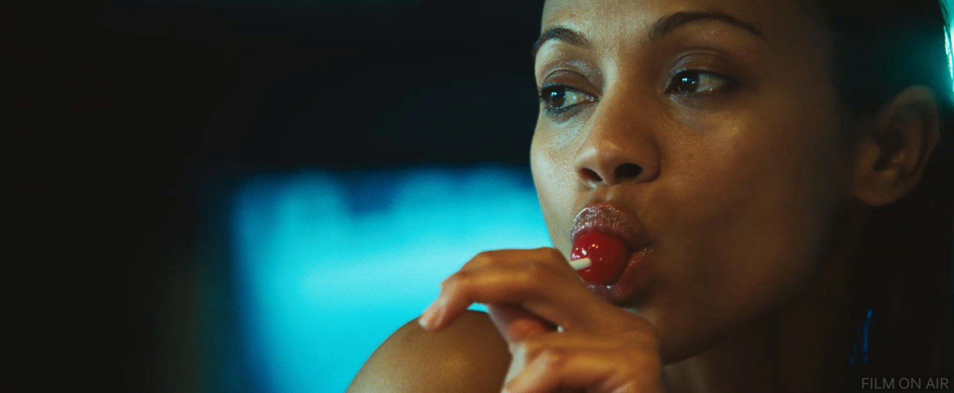 Zoe Saldana Lollipop i...