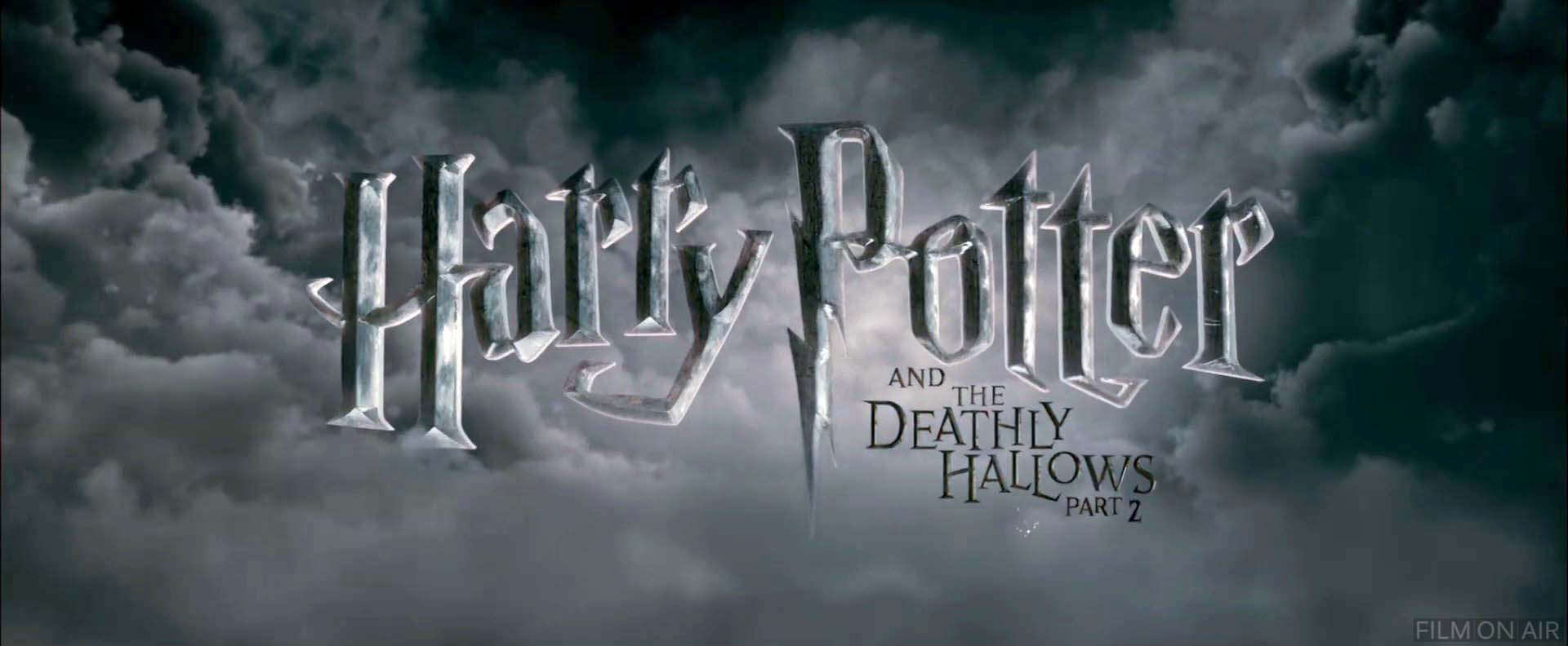 Harry Potter 7 Part 2 Logo in Harry Potter and the Deathly ...