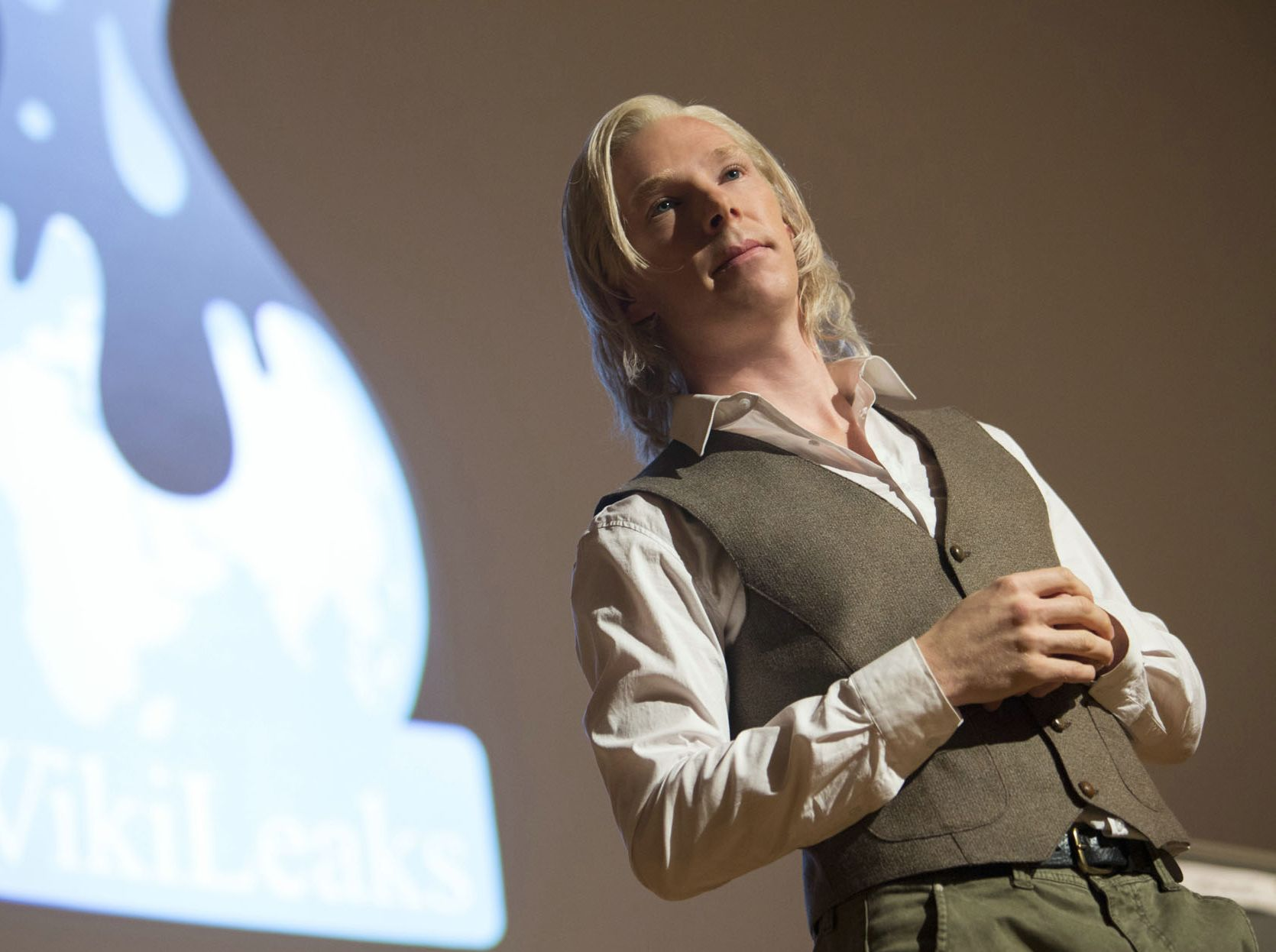 Benedict Cumberbatch As Julian Assange On The Wikileaks Stag Cultjer