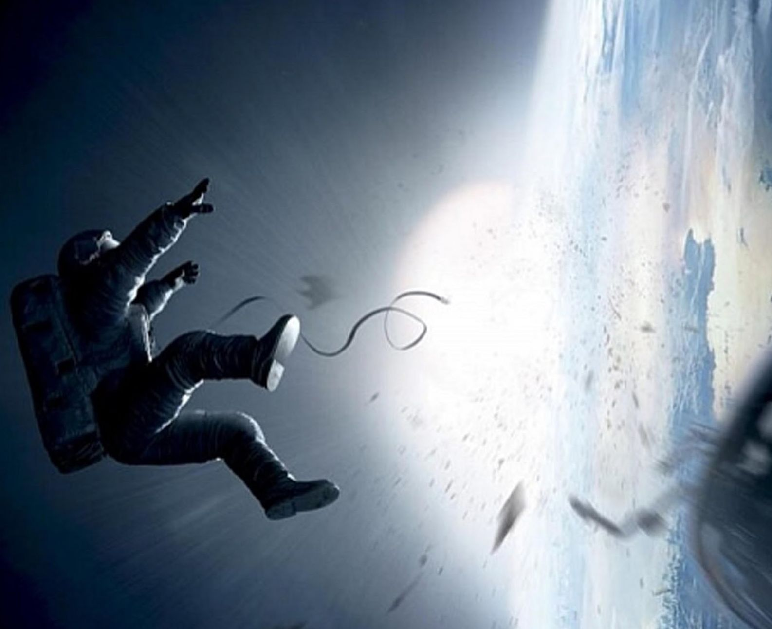 Cool action shot from Gravity