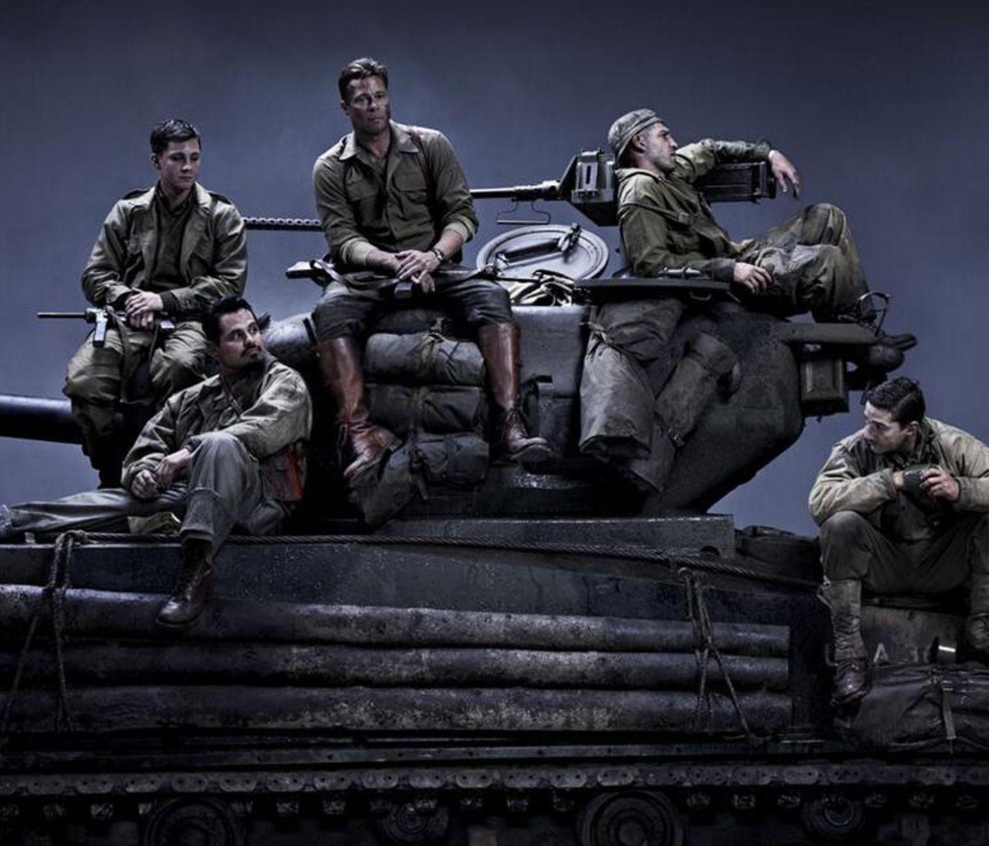Brad Pitt's World War II film Fury