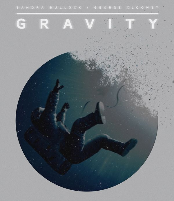 White Gravity poster art