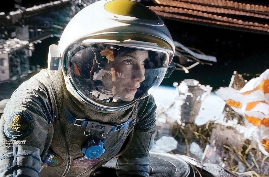 Sandra Bullock in Space
