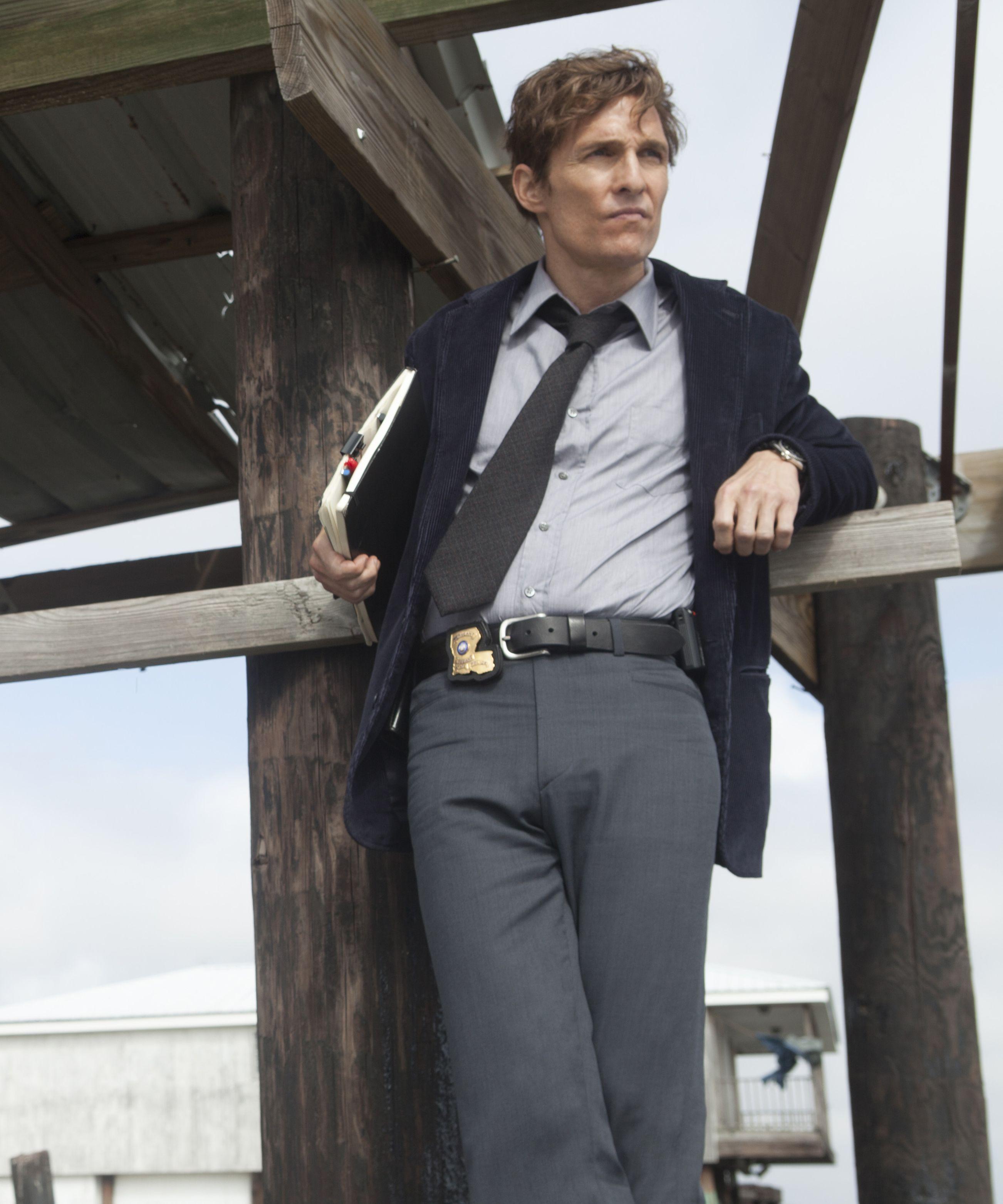 Matthew McConaughey in HBO's True Detective