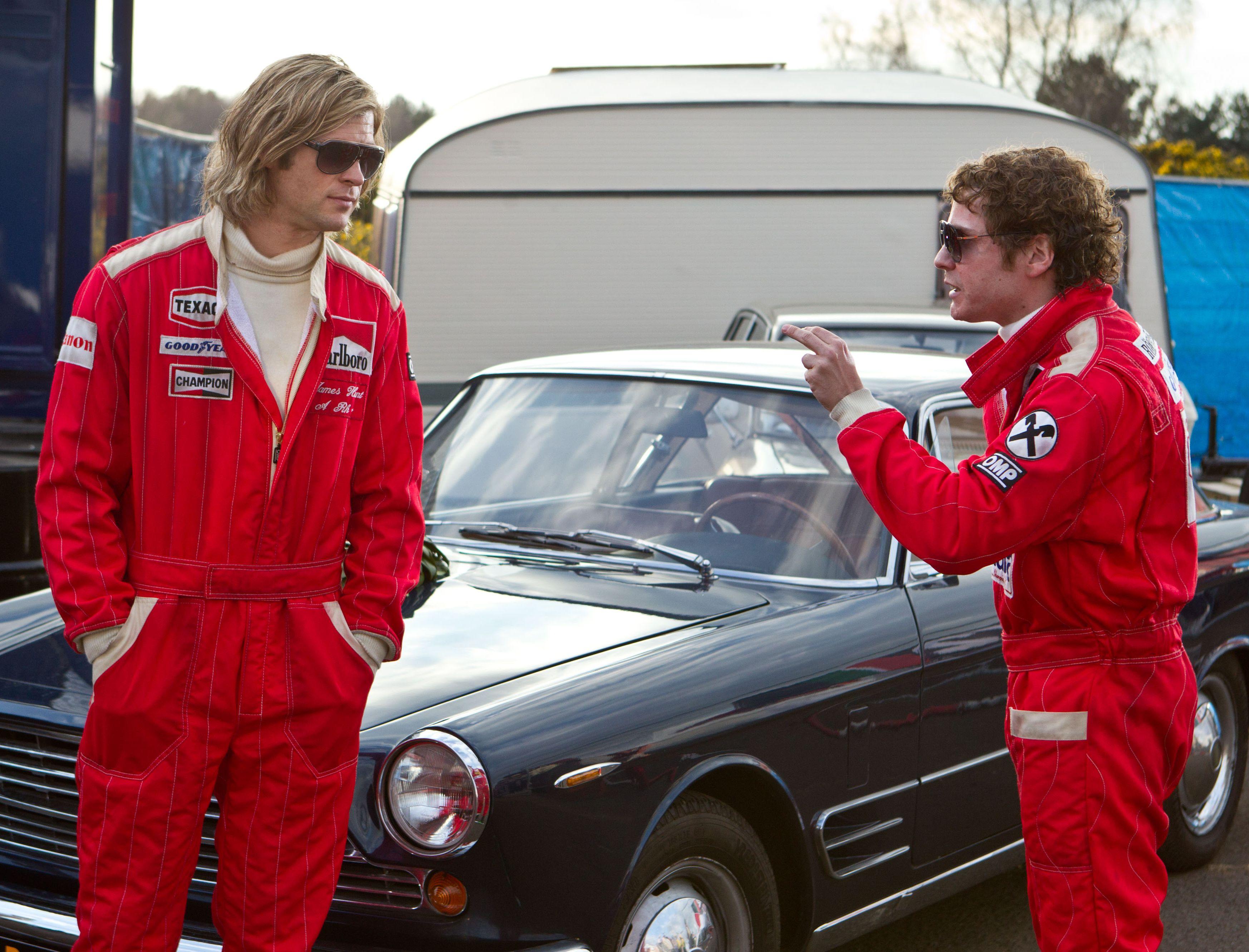 Niki Lauda dares James Hunt