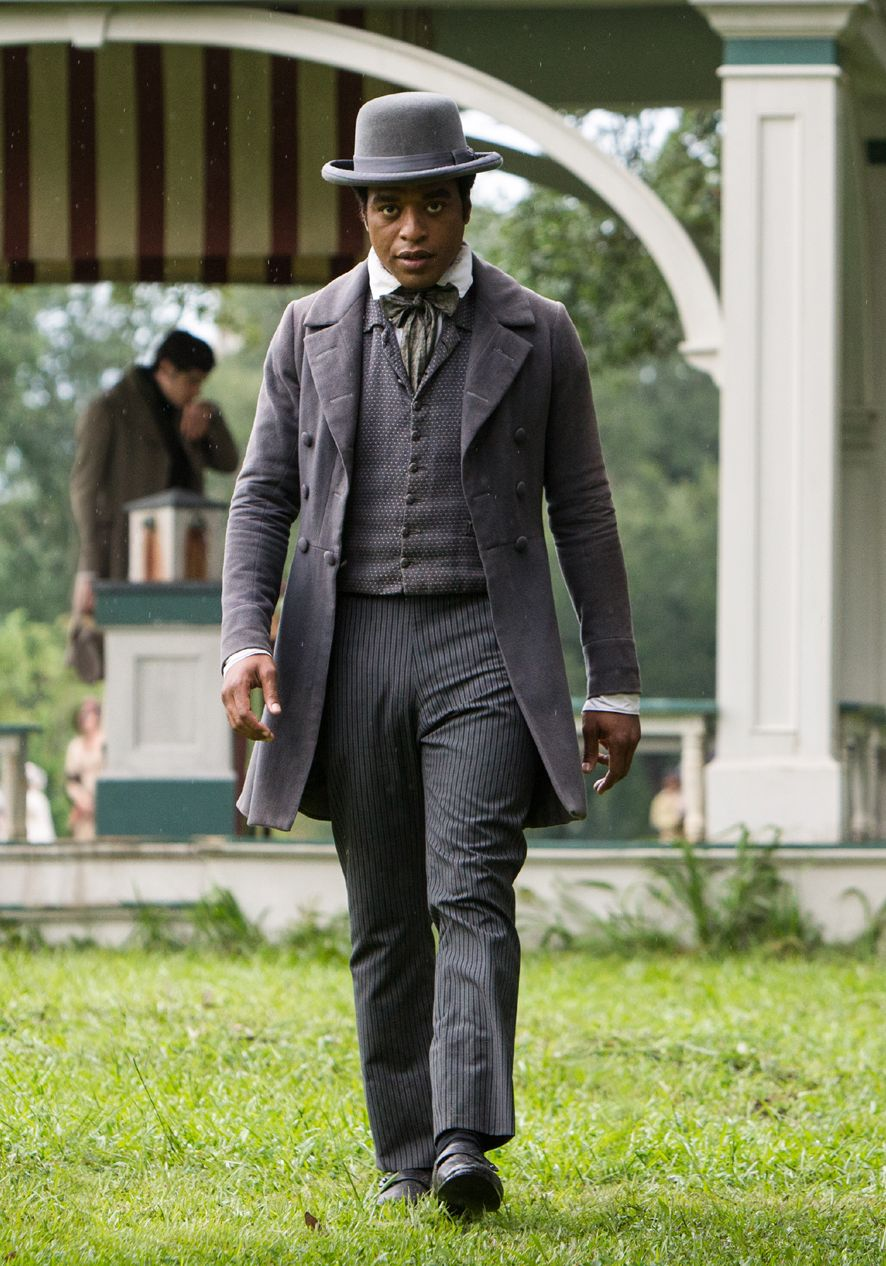 Chiwetel Ejiofor, suit and hat