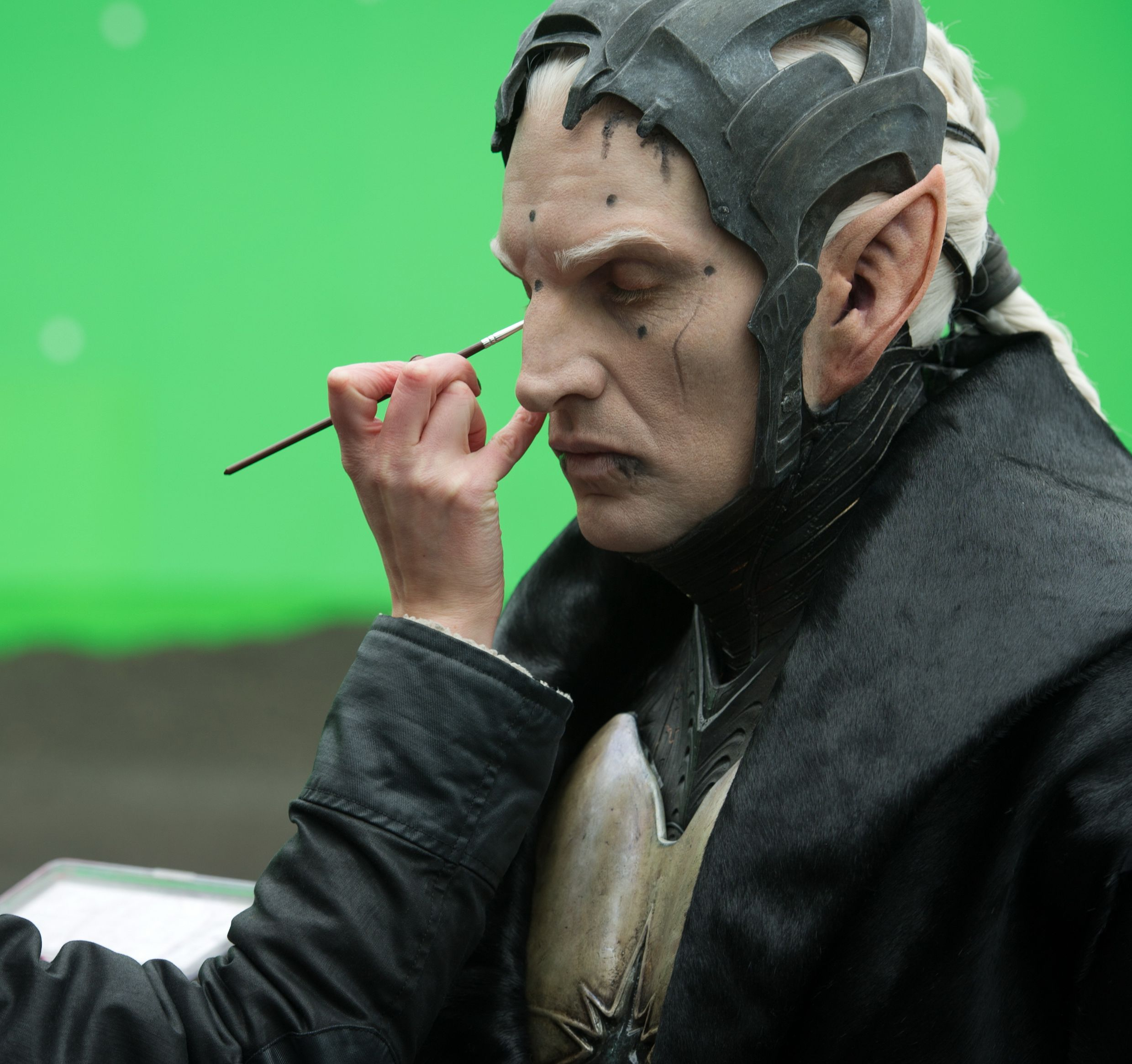 Making up the bad guy in Thor 2