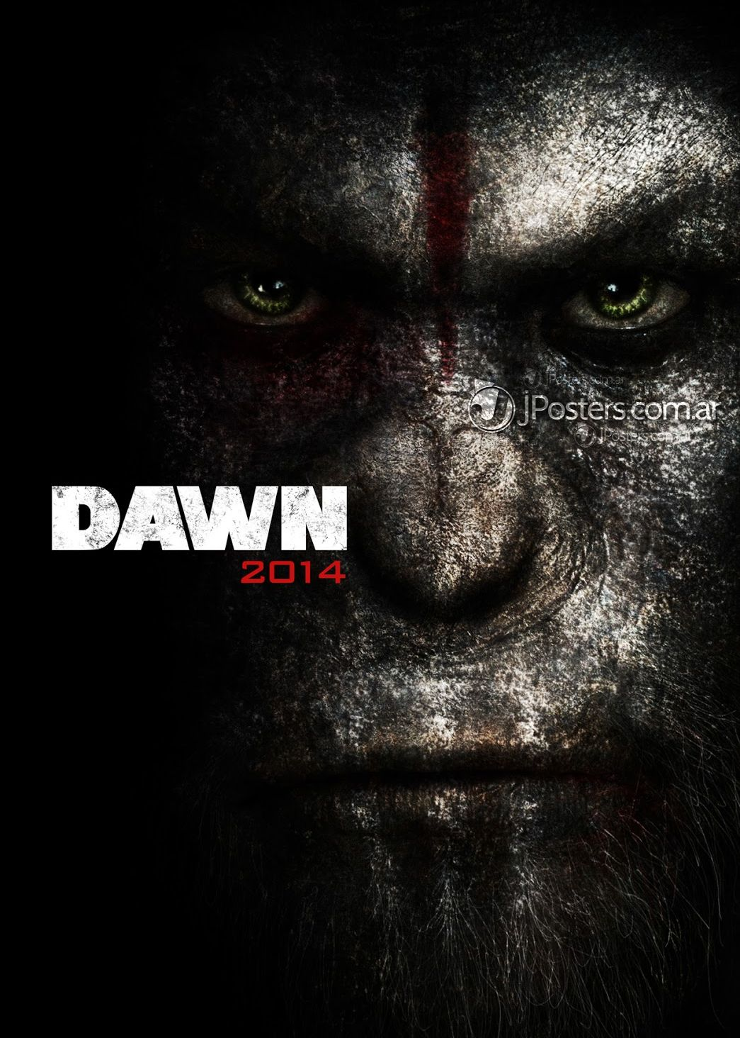 Fake Dawn of the Planet of the Apes poster