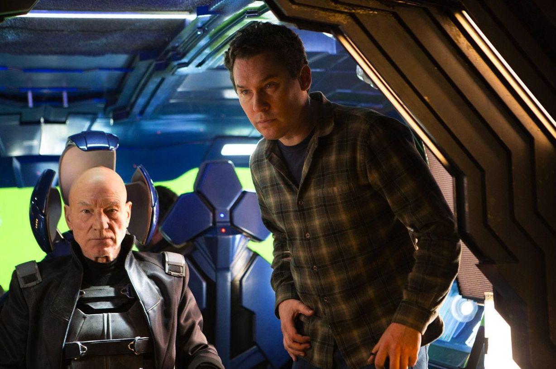 Bryan Singer directs Patrick Stewart