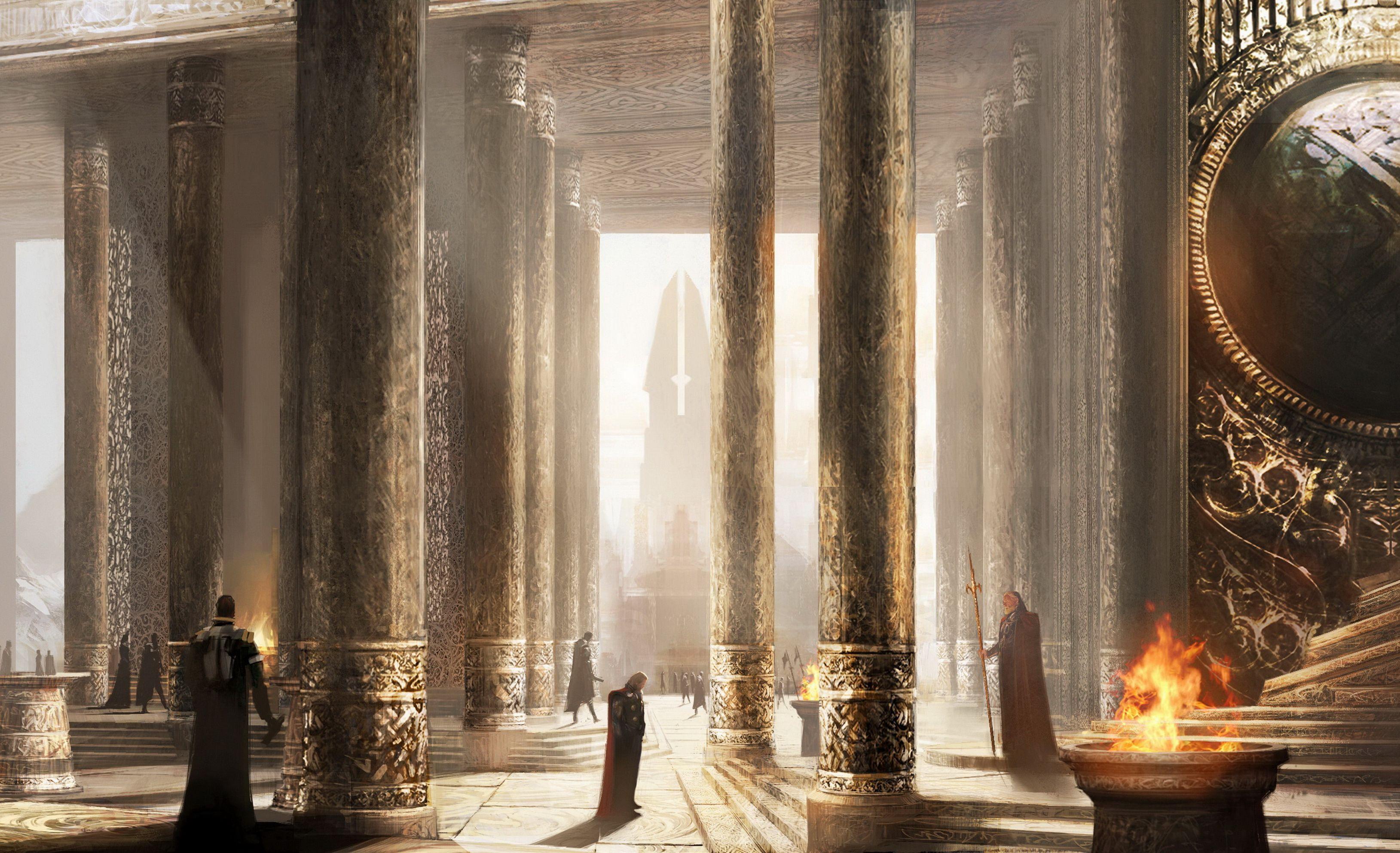 Fancy scenery, Thor: The Dark World