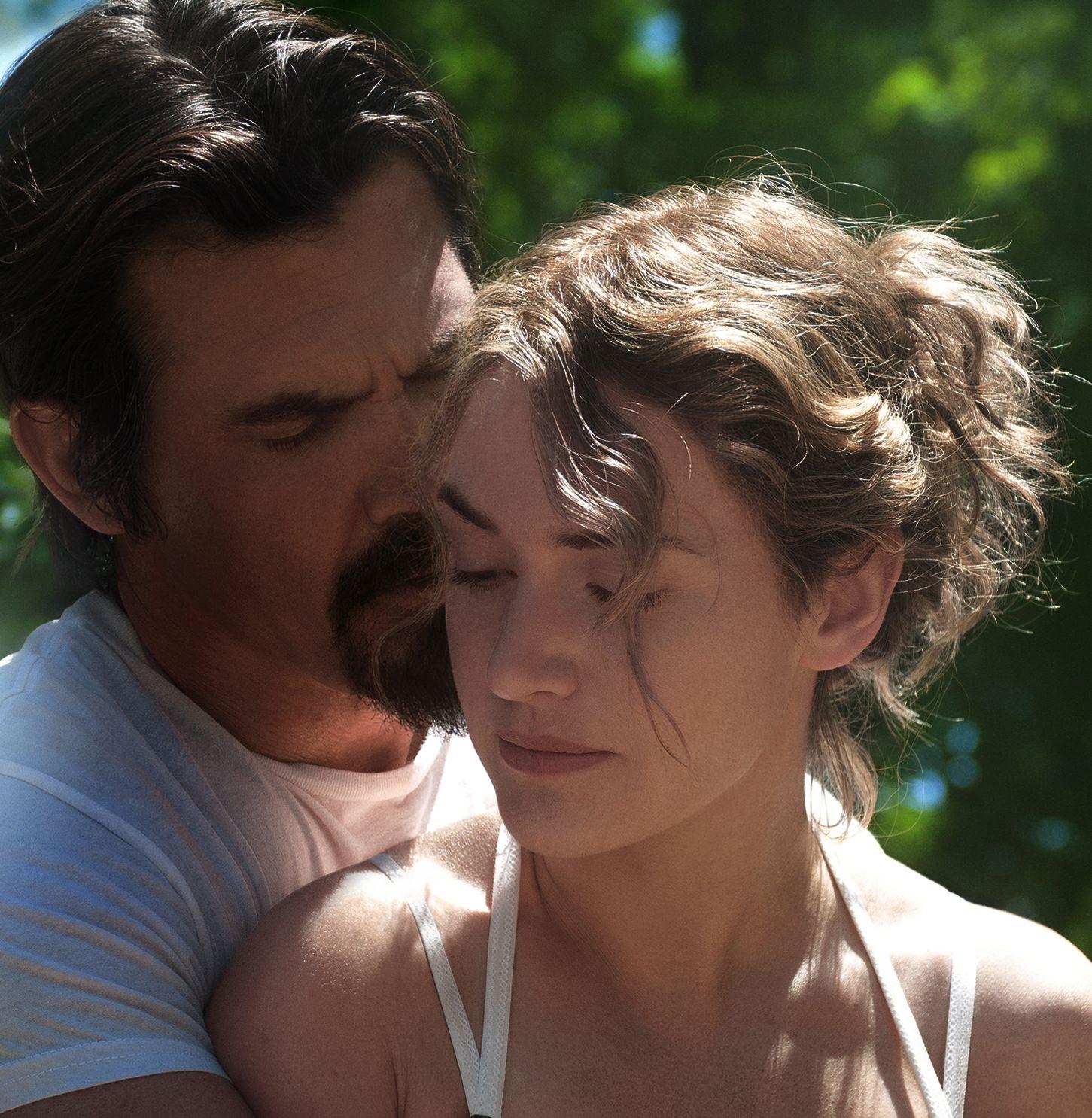 Kate Winslet and Josh Brolin in Jason Reitman's new film Lab