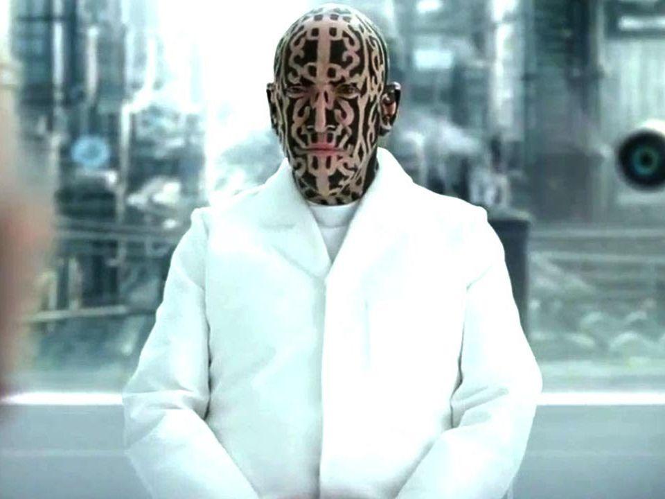 Mr. Nobody tattoo face