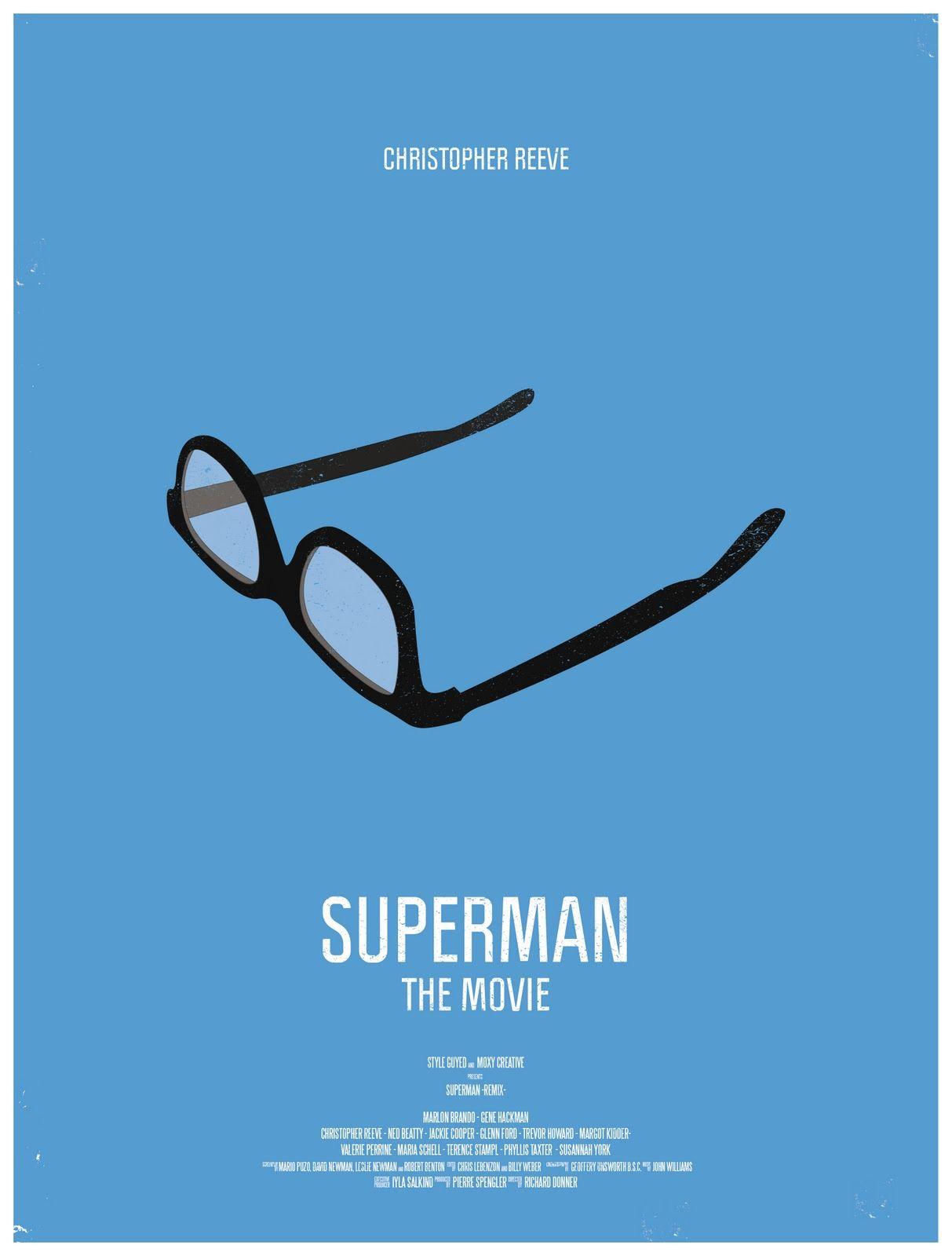 Minimal Poster: Superman