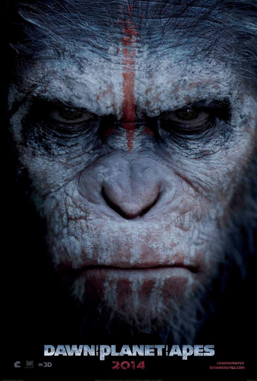 Teaser Poster for Dawn Of The Planet Of The Apes