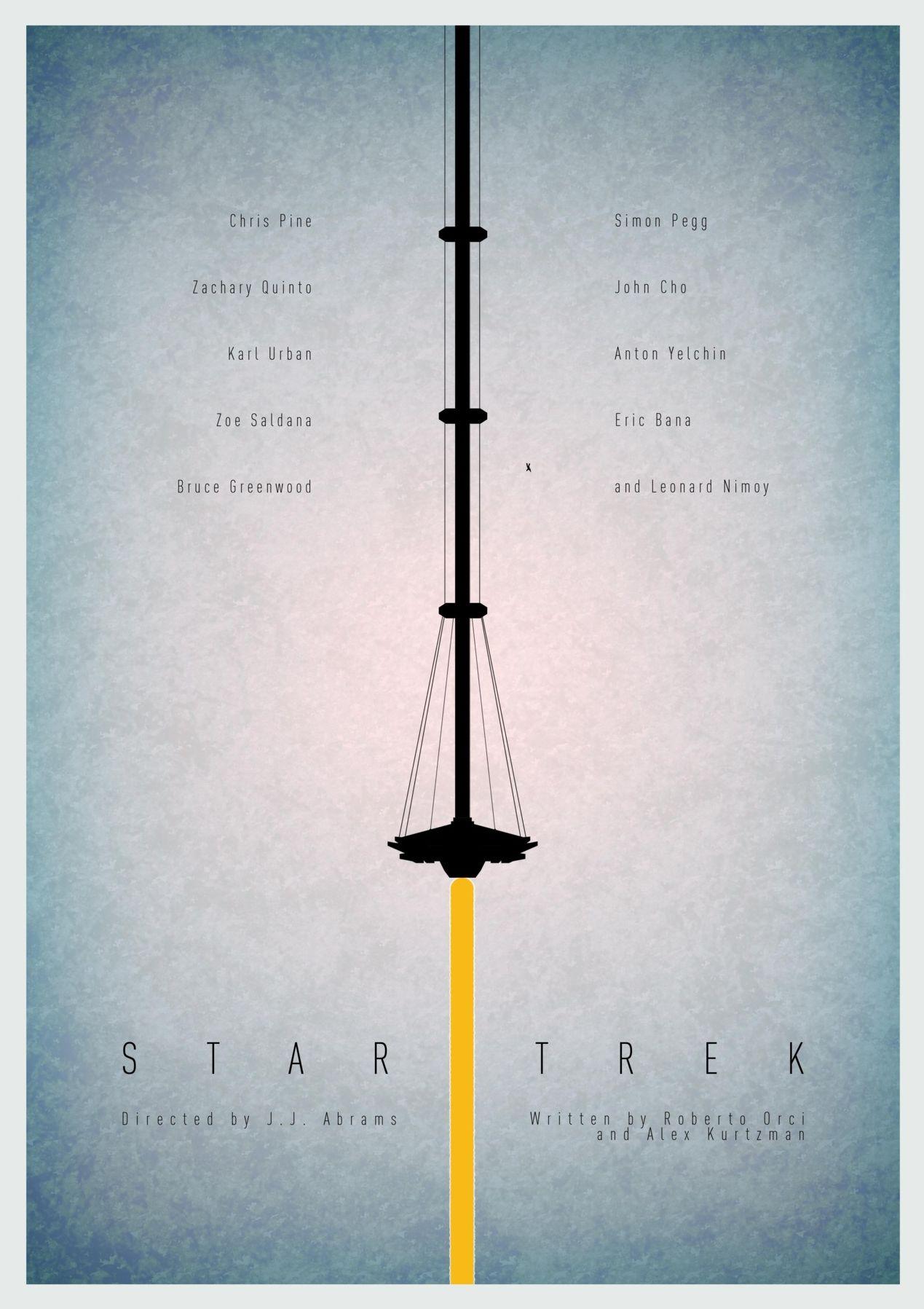 Minimal Poster: Star Trek