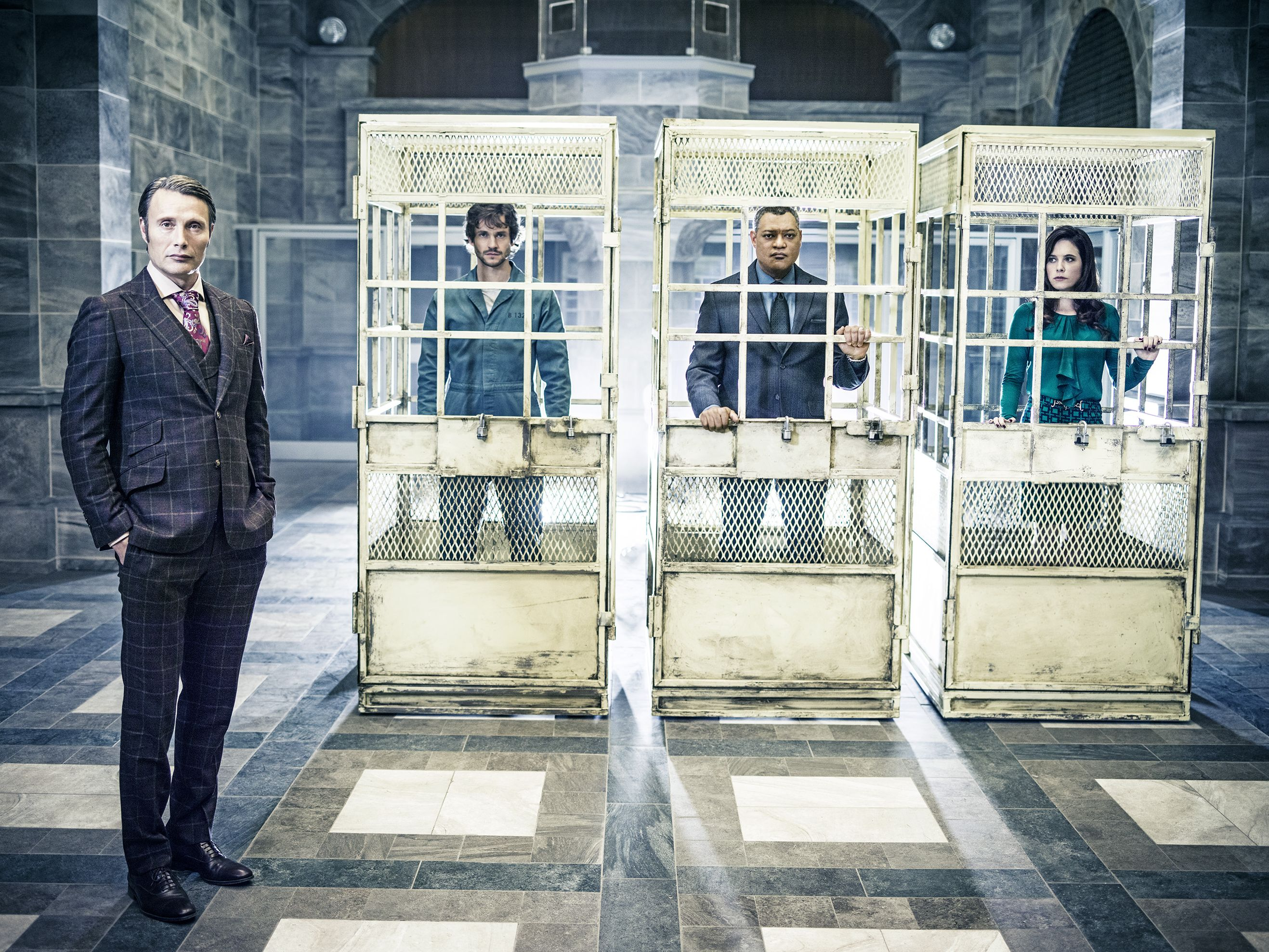 Mads Mikkelsen keeps his colleagues in a box for season 2 of