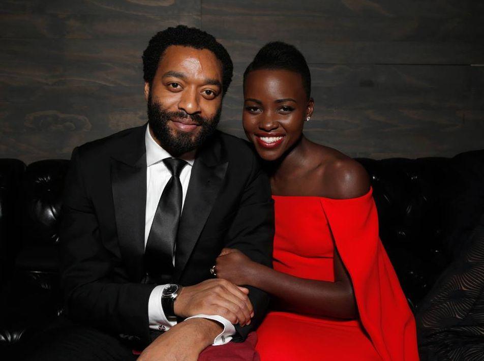 Chiwetel Ejiofor and Lupita Nyong'O