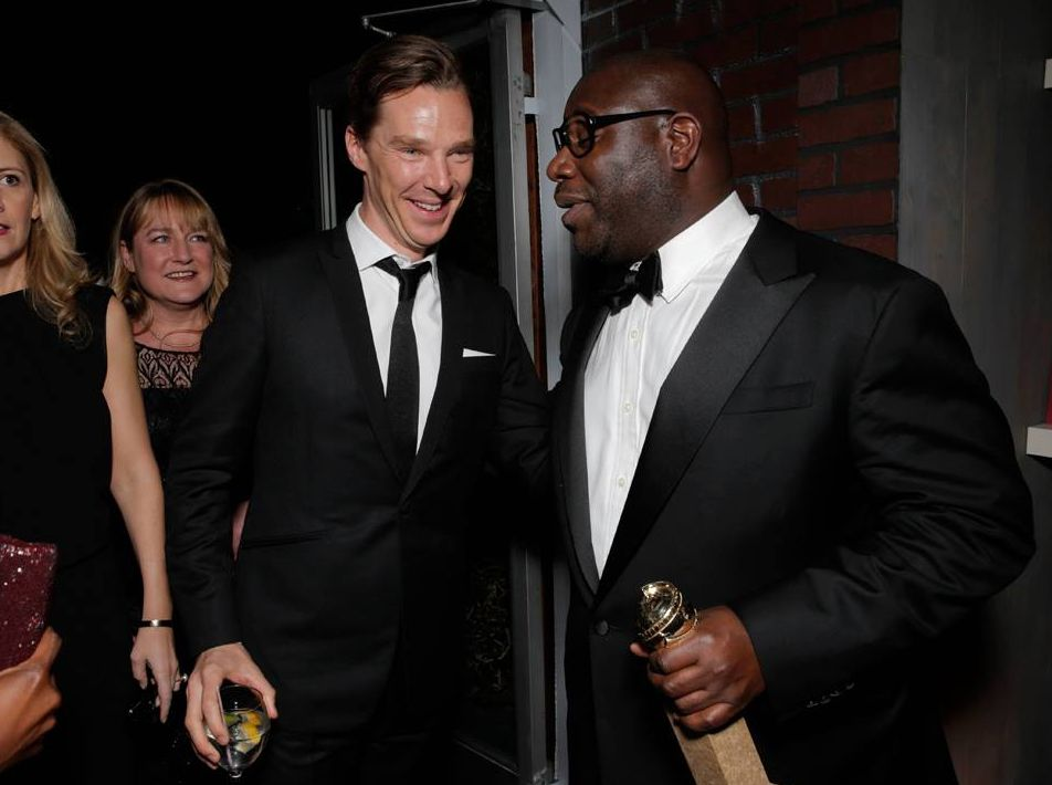 Benedict Cumerbatch and Steve McQueen