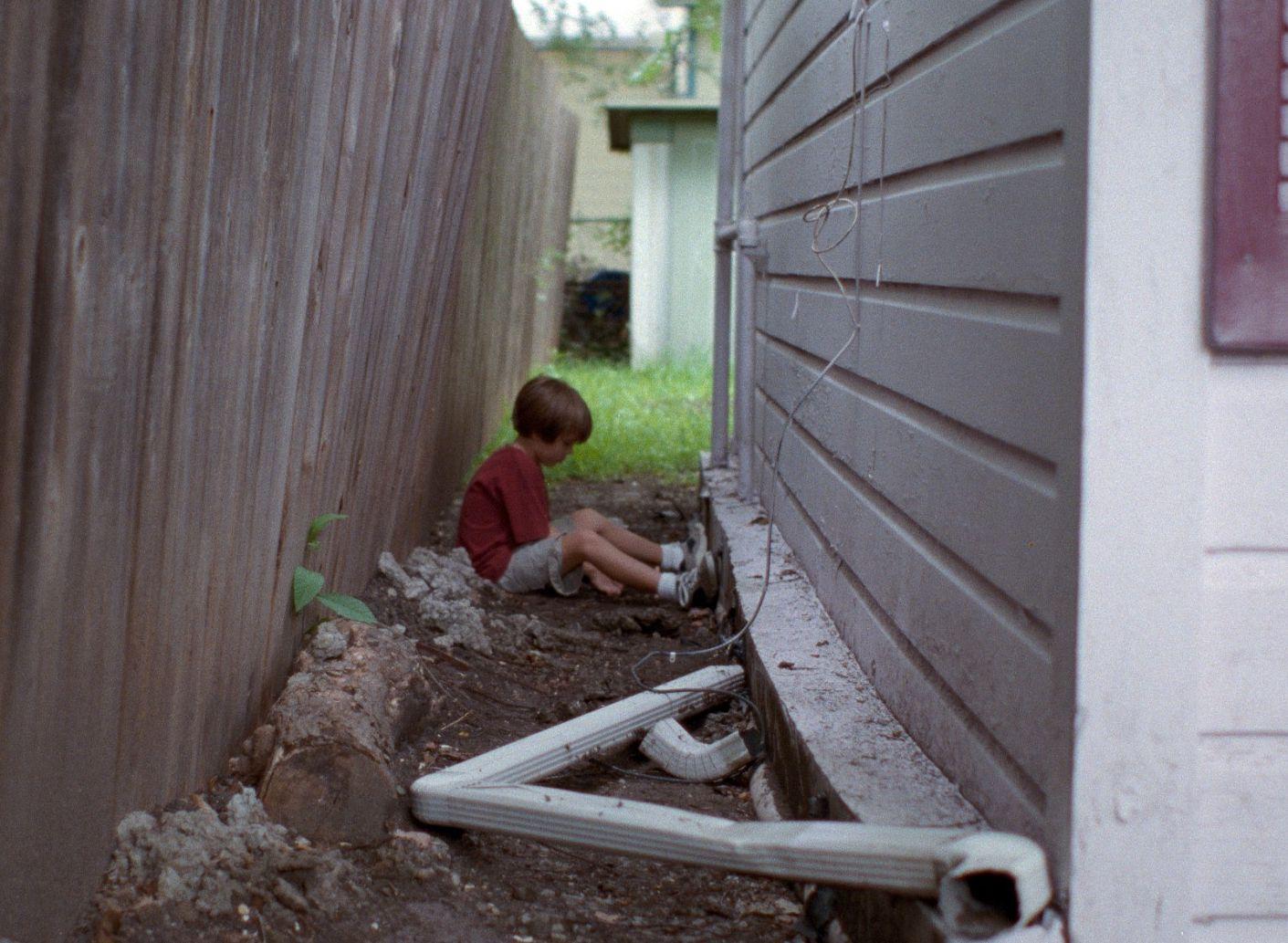 Ellar Coltrane as Mason in Richard Linklater's Boyhood