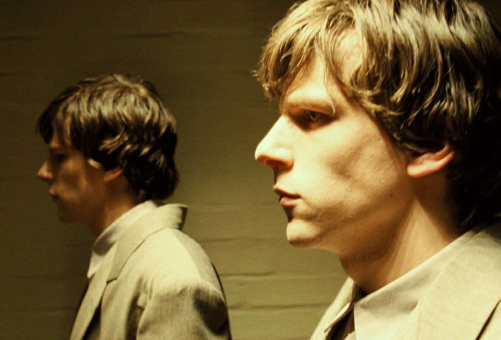 Jesse Eisenberg driven insane by his double