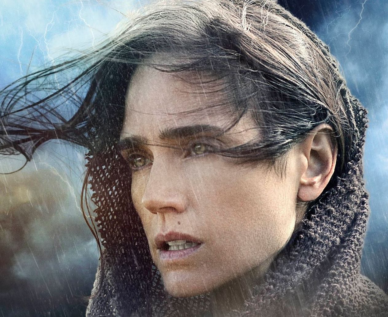 Jennifer Connely in the rain as well, Noah
