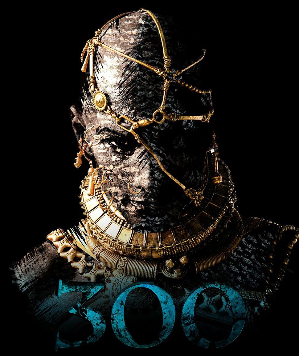 Rodrigo Santoro as King Xerxes in 300: Rise of an Empire