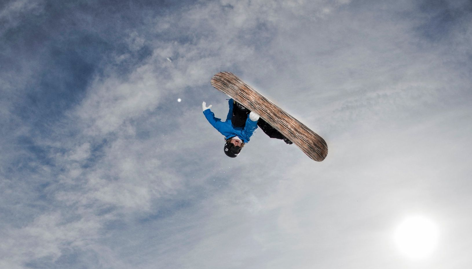 Snowboarding Upside Down in The Crash Reel