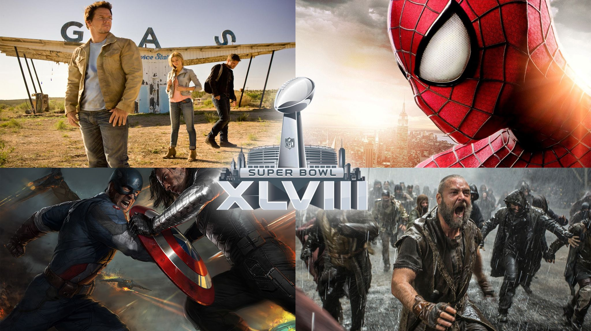 Watch the film trailers from this past Sunday's Super Bowl