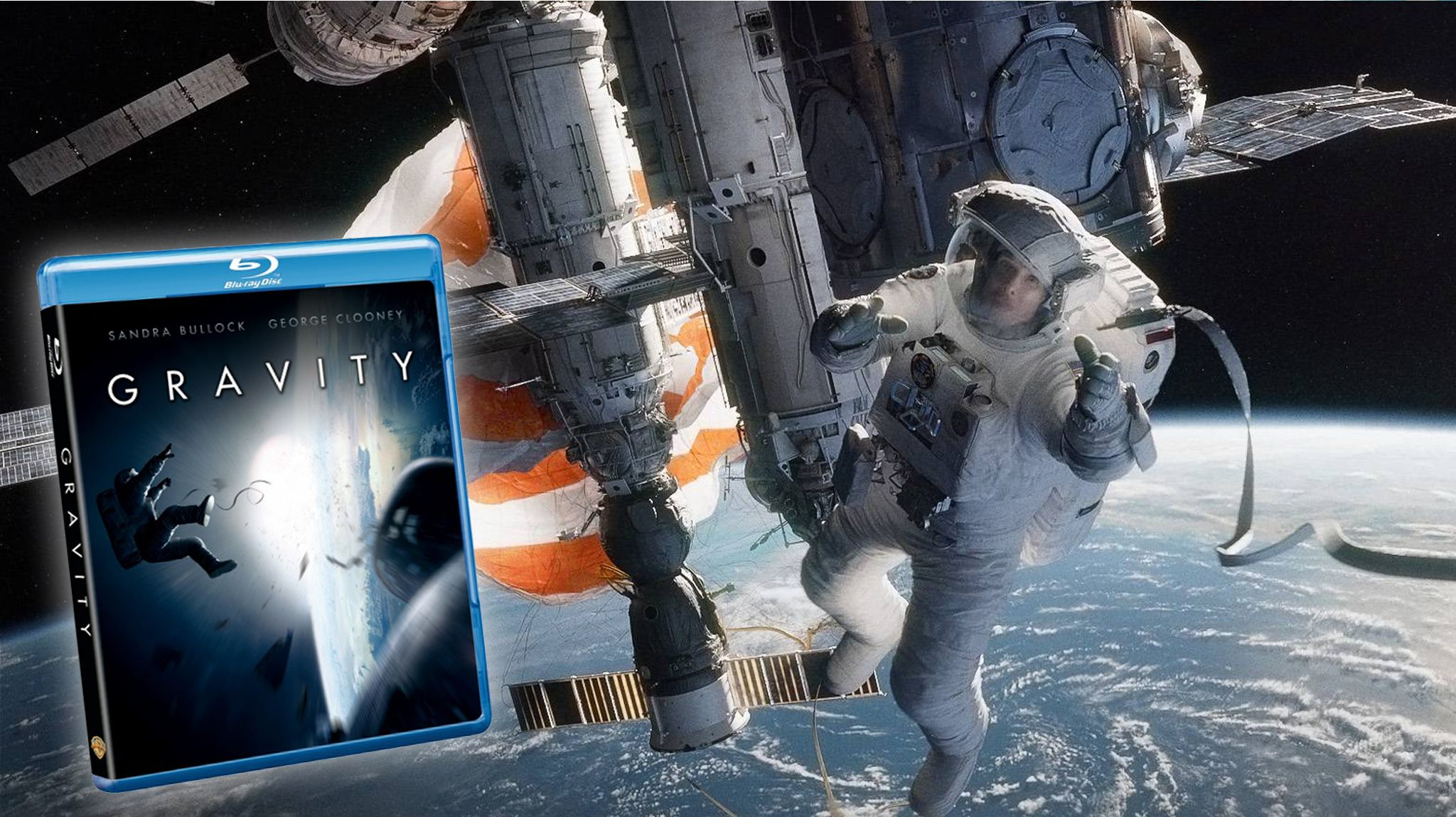 This Month On DVD: Gravity
