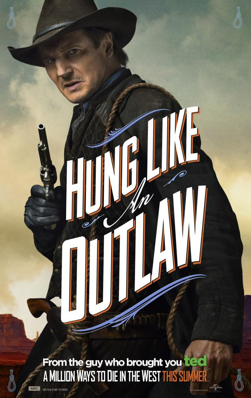 Hung Like An Outlaw, Liam Neeson as Clinch