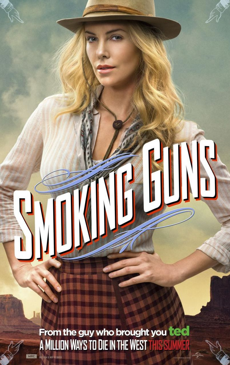 Smoking Guns, Charlize Theron as Anna