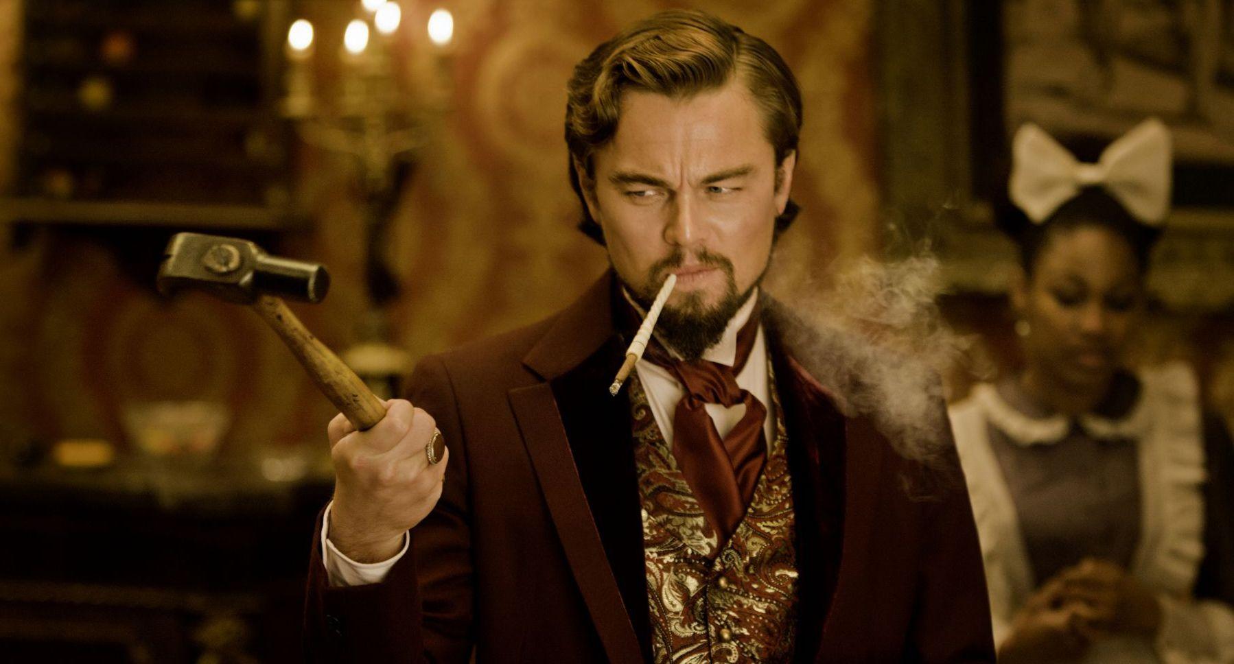 Di Caprio shows a talent for dark comedy in Django Unchained