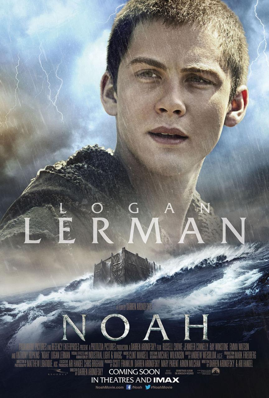Logan Lerman in Noah