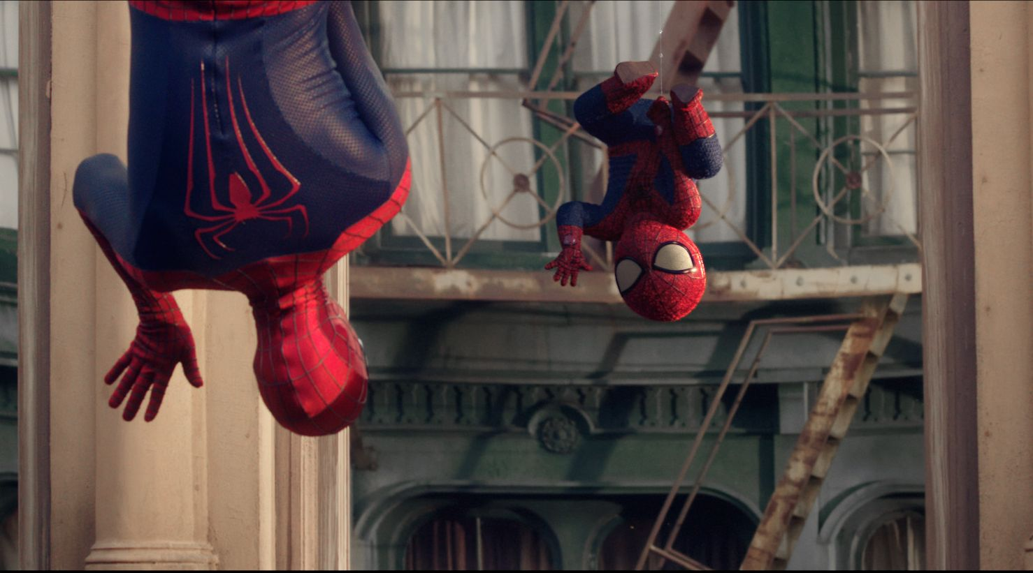 The Amazing SpiderMan Cultjer - Awesome video baby spiderman dancing