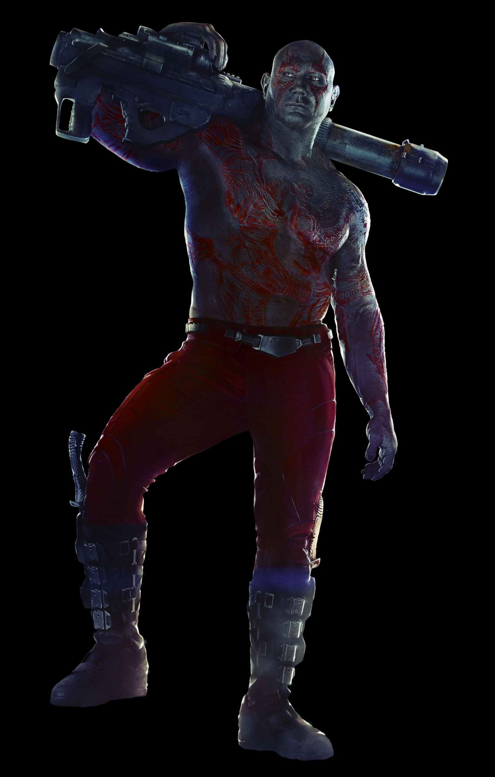 Dave Bautista as Drax the Destroyer character
