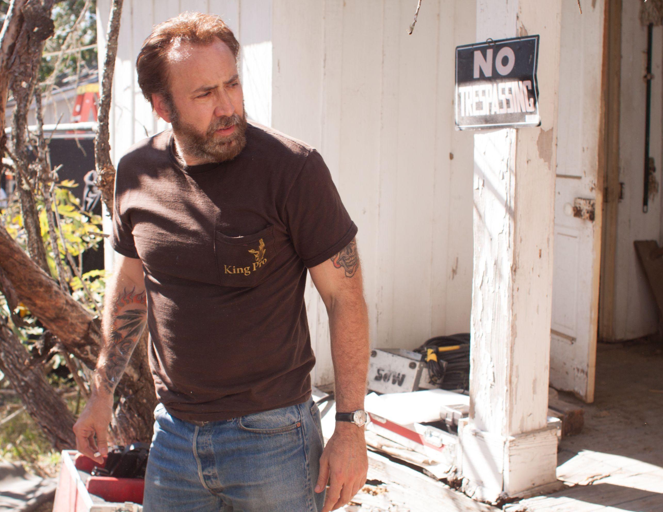 Nicolas Cage as Joe, No Trespassing